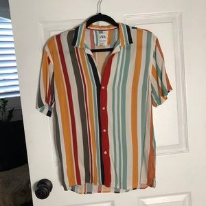 Zara Shirts - *Shrunken* Zara men's shirt